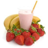 Banana-and-Strawberry-Shake